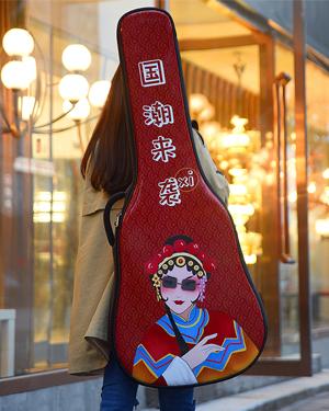 金川彩绘喷绘吉他包