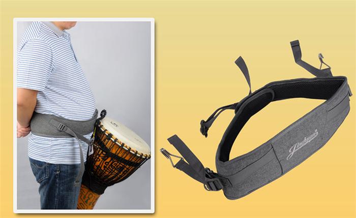非洲鼓背带