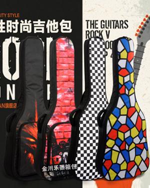 B-6130摇滚风彩色个性吉他包