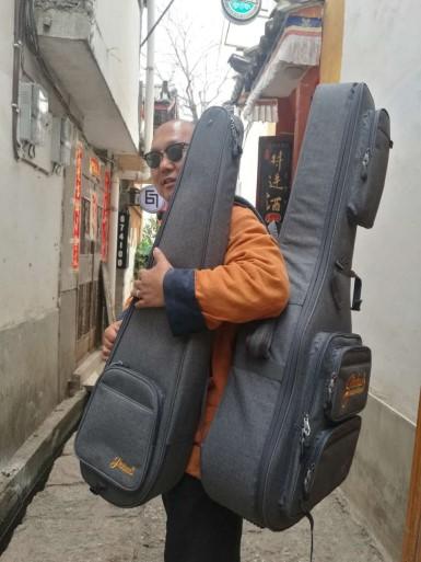 【私人定制吉他包】案例